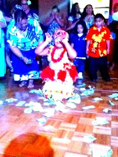 Lalo mai - my daughter performing the Siva Samoa at her Uncle's wedding.