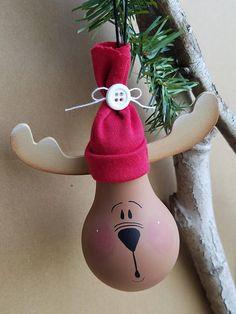 Reindeer/moose light bulb
