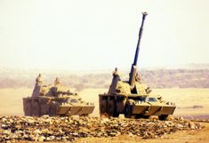 Rheinmetall sets three new distance records for indirect fire in South Africa Army Vehicles, Armored Vehicles, South African Air Force, Battle Rifle, Defence Force, Armored Fighting Vehicle, War Photography, Military Weapons, War Machine