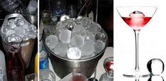 Glace luxury Ice balls - When you send off for a couple boxes of these without worrying about the cost you've finally made it.
