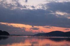 twilight in Onagawa