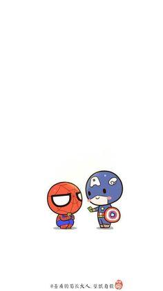 Khi các siêu anh hùng cho tiền bé nhện mừng quốc tế thiếu nhi  ---------------------- Artist: 基质的菊长大人 http://www.weibo.com/jzdjzdr