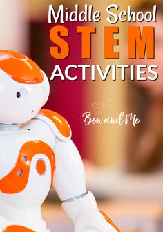 STEM stands for Science, Technology, Engineering, and Math and it's really useful to include this in your student's curriculum. Here are some STEM activities for middle school. homeschool STEM science math via 45458277473353092 Middle School Boys, Middle School Libraries, Middle School Teachers, Middle School Science, Middle School Activities, Stem High School, Middle School Crafts, Math Stem, Stem Science