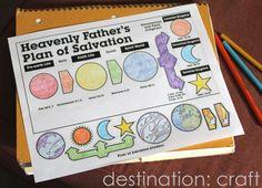 Destination: Craft: Laminator + Plan of Salvation FHE