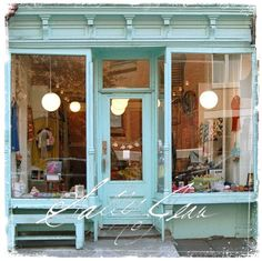my dream store front in my sweet little town...