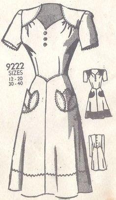 mode des années 1940 1325