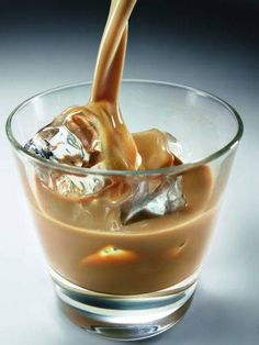 Bailey's Irish Cream on the rocks. Talk about sweet dreams...