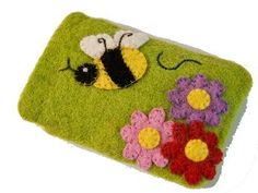 Handmade Kids Ladybug Coin Purse: #felt #gifts for #kids. So cute! Made in #Nepal, empowering survivors of human rights abuses. #Guilt-free #giving #ethical #fairtrade Made By Survivors www.madebysurvivors.com