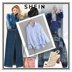"""""""SheIn beautiful blouse"""" by elza-345 ❤ liked on Polyvore featuring H&M, Sacai, Denim Mood, Dolce&Gabbana, Prada and Renvy"""