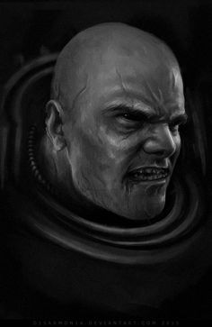 Night Lord Uzas - sketch by d1sarmon1a on DeviantArt - love this one