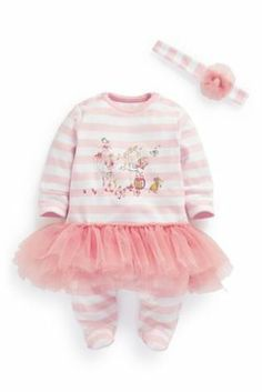 Buy Stripe Animal Tutu With Headband (0mths-2yrs) from the Next UK online shop