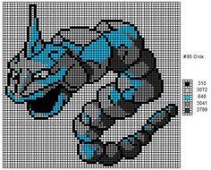 Crochet Fanatic: Pokemon 92-101: Gastly, Haunter, Gengar, Onix, Drowzee, Hypno…