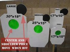 Spring Loaded Steel Targets