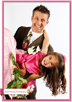 father daughter pose inspiration by SHari Kimmery Photography!
