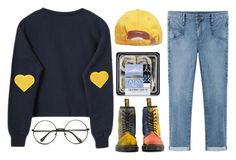 """""""Peace of Mind"""" by radperrie ❤ liked on Polyvore featuring Helmut by Helmut Lang, Dr. Martens, women's clothing, women's fashion, women, female, woman, misses and juniors"""