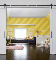 colorful playroom design for the kids!