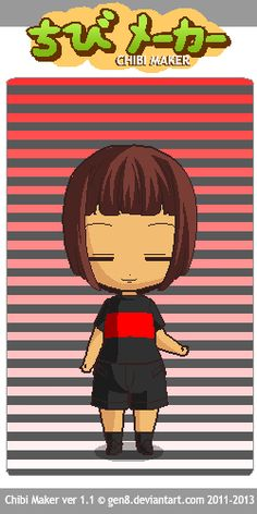 This is underfell Frisk! Chibi Maker, Frisk, Anime, Fictional Characters, Art, Art Background, Anime Shows, Kunst, Anime Music