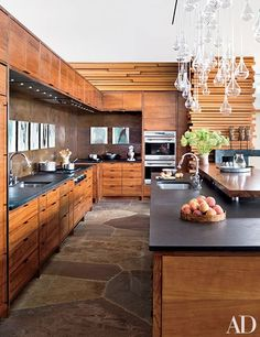 See how copper accents help these ten sophisticated spaces shine