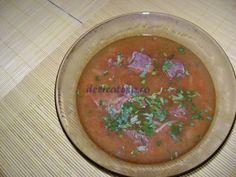 Ciorbă din carne de vită Supe, Carne, Cantaloupe, Salsa, Fruit, Ethnic Recipes, Food, Essen, Salsa Music