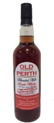 Old Perth Blended Whisky Cask Strength Red Wine Finish. Blended Whisky, Malt Whisky, Hot Sauce Bottles, Perth, Scotch, Red Wine, Whiskey, Girlfriends, Strength