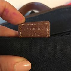 Extra Pics More pics of the Burberry backpack. The leather square in the front has some scratching as seen in picture and the bottom has like a stain, but I'm honestly not sure if it's an actual stain or part of the purse. It is the same color as the horse details on the bag and is not sticky, so it may just be part of the bag. Other than this, everything works great on it and has no holes. Burberry Bags Backpacks