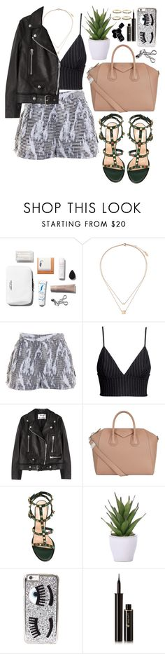 """""""It's easy  to loose yourself in onward motion"""" by wake-me-up-before-you-go-go ❤ liked on Polyvore featuring Topshop, Ramy Brook, H&M, Acne Studios, Givenchy, Valentino, Lux-Art Silks, Chiara Ferragni, Lancôme and Chanel"""