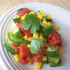 Mexican Cucumber Salad - Allrecipes.com
