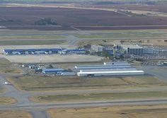 Far view of Huntsville International Airport. Watch more @ http://www.airport-technology.com/projects/huntsville/