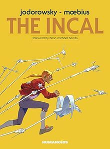 """The Incal (French: L'Incal)-- is a French graphic novel series written by Alejandro Jodorowsky and originally illustrated by Jean Giraud. The Incal, with first pages originally released as Une aventure de John Difool (""""A John Difool Adventure"""") in Métal hurlant and published by Les Humanoïdes Associés, introduced Jodorowsky's """"Jodoverse"""" (or """"Metabarons Universe""""), a fictional universe in which his science fiction comics take place."""