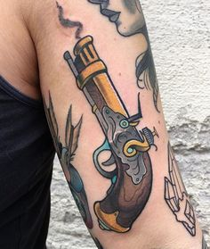 filthyswede - From today! Thanks Hanna #flintlock #pistol #filthystwede #lizabuzzstop28