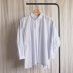 Big Tuck Shirt #iceblue