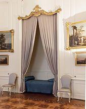 Alkoven im Schloss Sanssouci