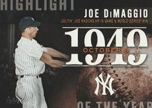 2015 Topps Series 2 Highlight of the Year #H-41 Joe DiMaggio - New York Yankees