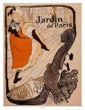 """""""Jardín de París"""".   Henri de Toulouse-Lautrec"""