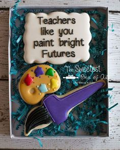 "10 Likes, 3 Comments - Nancy Kidder (@the.sweetest.one.of.all) on Instagram: ""Teacher Appreciation Day #teacherappreciationday #teacherappreciationdaycookies…"""