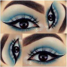 Details  ➖️️EYEBROWS- @anastasiabeverlyhills brow powder duo in 'dark brown' ➖BASE- #anastasiabeverlyhills pro pencil in 'base 1' ➖LID- @morphebrushes 35S palette ➖️CREASE- #morphe 35S palette ➖BROW BONE/INNER CORNER- #morphebrushes #jaclynhillfavorites palette ➖️GLITTER- @myvidalux 'Vegas baby' ➖EYELINER- @rccosmetics eyeliner pen ➖️WATERLINE- @motivescosmetics 'little black dress' gel liner #motivescosmetics GLITTER LINER- @nyxcosmetics liquid crystal liner ...