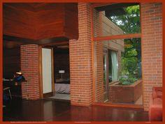 Bernard Schwartz House, 1939. Usonian Style. Two Rivers, Wisconsin. Frank Lloyd Wright