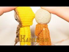 Валенки кукле | Одежда Для Кукол | Вяжем Кукол Крючком | Ореховый Мишка - YouTube