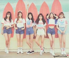 Apink - Girls Sweet Repose Photobook. (Credits to Apink6Season) #apink…