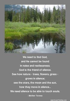 Find stillness and you find God. - Jonathan Lockwood Huie