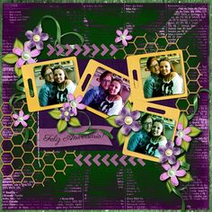 Kit: A Lot of Flowers by MariR Designs http://store.digiscrappersbrasil.com.br/s4h-and-pu-c-1_256_431/a-lot-of-flowers-by-marir-designs-p-9401.html Layered Template – by  Scrapping with Liz Font: Parisienne