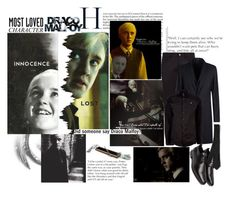 """""""Most Loved Character: Draco Malfoy (Harry Potter)"""" by deepalika-deb ❤ liked on Polyvore featuring Dolce&Gabbana, Emporio Armani, Vivienne Westwood, COSTUME NATIONAL, Valentino, men's fashion, menswear, harrypotter, contestentry и MostLovedCharacter"""
