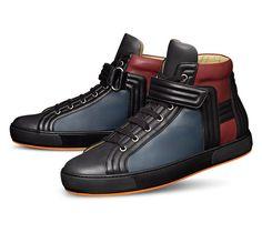 "sneakers ""Lions"" by #Hermès"