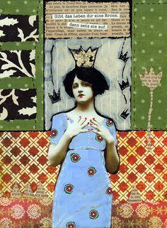 Kunstdruck in Passepartout von mARTina haussmann auf DaWanda.com