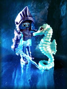 Zauber in blau. Playmobil