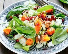 Salade minceur de mâche et potimarron
