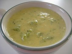 MamaHoots.. Food is Love: Broccoli and Cheese Soup