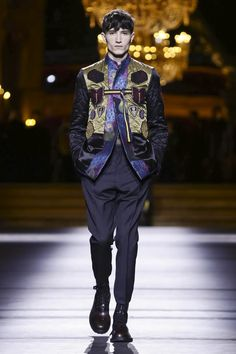 Dries Van Noten Menswear Fall Winter 2016 Paris