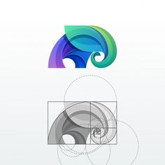 Elephant abstract vector logo template P. Crea Design, Branding Design, Brand Identity Design, Logo Sketches, Elephant Logo, Logo Color, Animal Logo, Grafik Design, Creative Logo