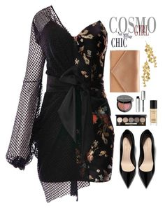 """♡ #9"" by abiegarrison ❤ liked on Polyvore featuring Tory Burch, Micoli, Bare Escentuals, Bobbi Brown Cosmetics and vintage"